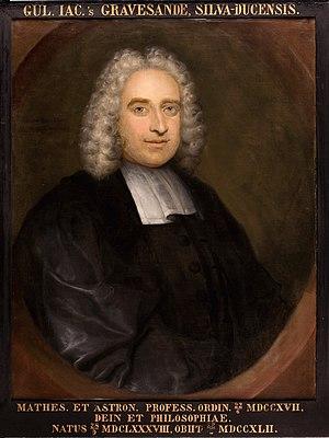 Willem 's Gravesande - Willem Jacob 's Gravesande (1688–1742)