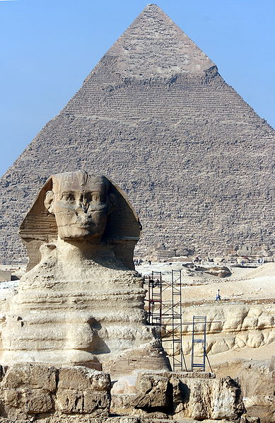 Archivo:Great Sphinx of Giza 0904.JPG