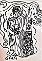 Greek Goddess Gaia illustrated in 2019.jpg
