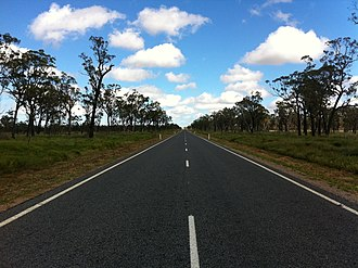 Gregory Highway - Image: Gregory Highway, QLD, Australia