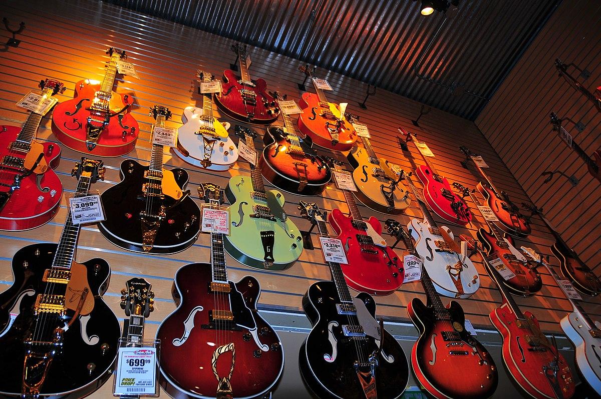 Ebony and ivory music shop
