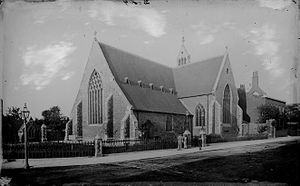 Greyfriars Church, Reading - Greyfriars Church c. 1875 by Henry Taunt