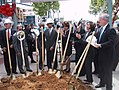 Groundbreaking for Third Street Light Rail Project, March 2003.jpg