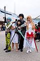 Group Portrait of Sword Art Online Cosplayers in FF25 20150131.jpg