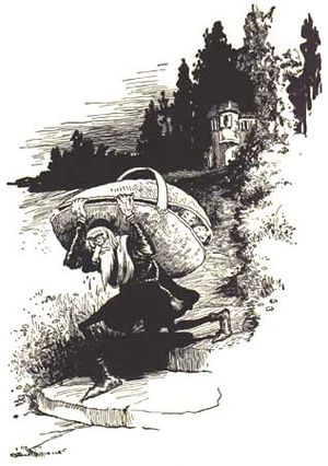 """Illustration from the book """"Grimm's Fairy..."""
