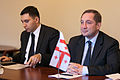 Gruzijas Eiropas lietu un Eiro-Atlantiskās integrācijas ministra Aleksi Petriašvili vizīte (8404215513).jpg