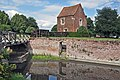 Guardhouse, Bridge and moat - Tattershall Castle - geograph.org.uk - 1457527.jpg