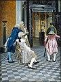 Gunnar Berndtson - Art Connoisseurs in the Louvre.jpg