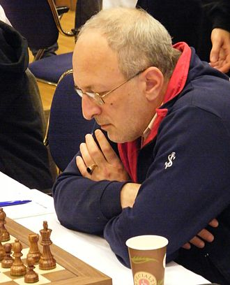 Mikhail Gurevich (chess player) - At the Dresden Olympiad