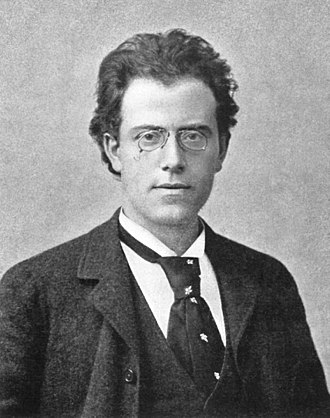 Gustav Mahler - Gustav Mahler at the time of his First Symphony