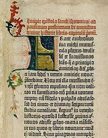 Gutenberg-Bibel (Quelle: Wikimedia)