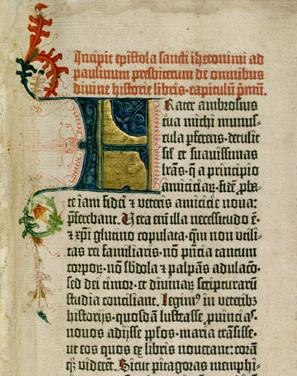 Gutenberg Bible scan