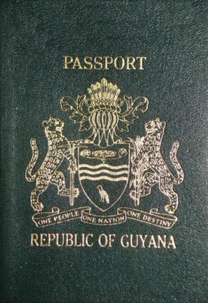 Guyanese passport - Guyana Pre-CARICOM Passport