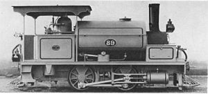 NGR Class K 0-4-0ST - NGR no. 89, c. 1891
