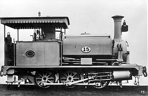 1880 in South Africa - NGR Class K 0-6-0ST
