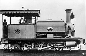 NGR Class K 0-6-0ST - NGR Class K locomotive no. 15, c. 1880