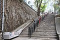 HK 上環 Sheung Wan 荷李活道 Hollywood Road 城皇街 Shing Wong Street December 2018 IX2 banyan tree root wall stairs.jpg