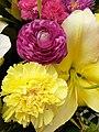 HK SW 上環 Sheung Wan 皇后大道西 Queen's Road West shop 萬盛中西藥業 Man Sheng Medicine Store flowers January 2021 SS2 04.jpg