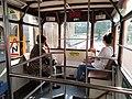 HK Sheung Wan Western Tram Terminus Hong Kong Tramway 33 upper deck interior October 2020 SS2.jpg