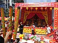 HK Sheung Wan Wing Lok Street Morrison Street event Incense n household shrines Oct-2012.JPG