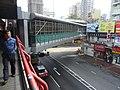 HK Tsuen Wan Sai Lau Kok Road footbridge visitors 16-Dec-2012.JPG