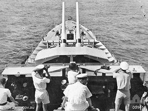 HMAS Nizam (G38) - Image: HMAS Nizam AWM 009410