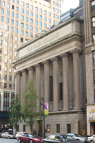Zhang Ruimin - Haier Building in Manhattan