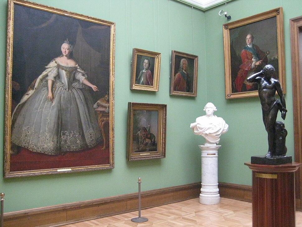 Hall N3 (18th century) Tretyakov gallery 02 by shakko