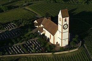 Hallau - Bergkirche St. Moritz