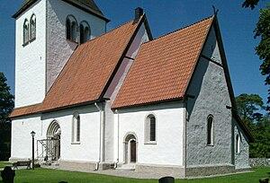 Hall Church, Gotland - Image: Halls kyrka Gotland lk 1