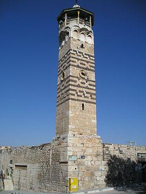 Nur al-Din Mosque - The minaret of Nur al-Din Mosque