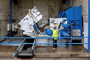 Hammermill - High speed industrial hammermill for waste fragmentation