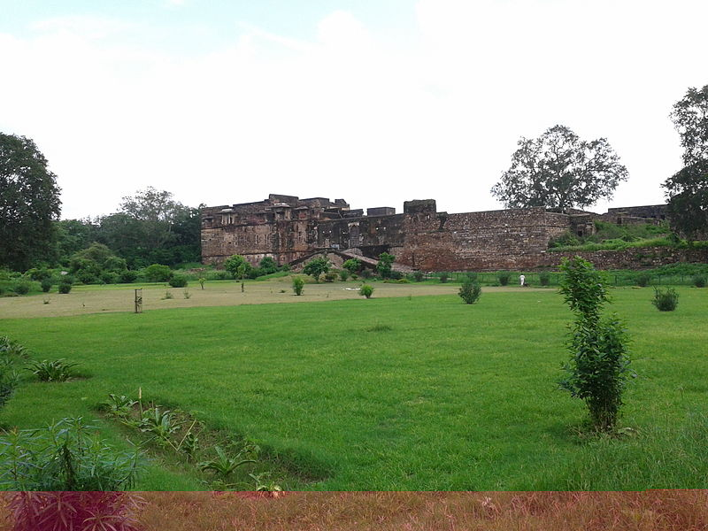 Hammir palace ,in the ranthambor fort