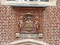Hampton Court Palace – Cardinal Wolsey's coat of arms.jpg