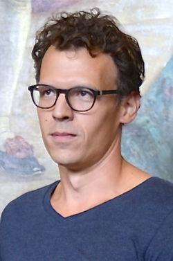 Hannes Meidal under Det Kgl. Svenske Teaters efterårssamling 2014.