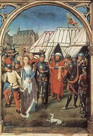 Saint Ursula - Hans Memling, The Martyrdom of Saint Ursula