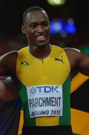 Hansle Parchment - Parchment at the 2015 World Championships