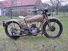 1928 Harley Davidson Single Cylinder Motorcycle