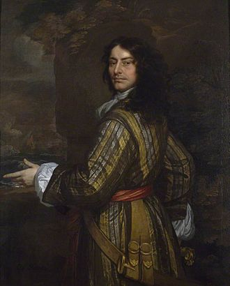 Battle of Martinique (1667) - Admiral Sir John Harman by Peter Lely. Harman led the successful attack at Martinique