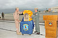 Harris presents Arleigh Burke Fleet Trophy to VP- 9 131115-N-OB682-001.jpg