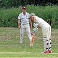Hatfield Heath CC v. Takeley CC on Hatfield Heath village green, Essex, England 20.jpg