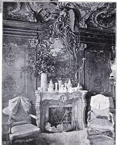file:haus königsallee 13 in düsseldorf, kamin im esszimmer, Esszimmer