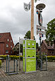 Hausdülmen, E-Bike-Ladestation am Dorfplatz -- 2014 -- 0133.jpg