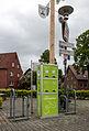 Hausdülmen, E-Bike-Ladestation am Dorfplatz -- 2014 -- 0133.jpg