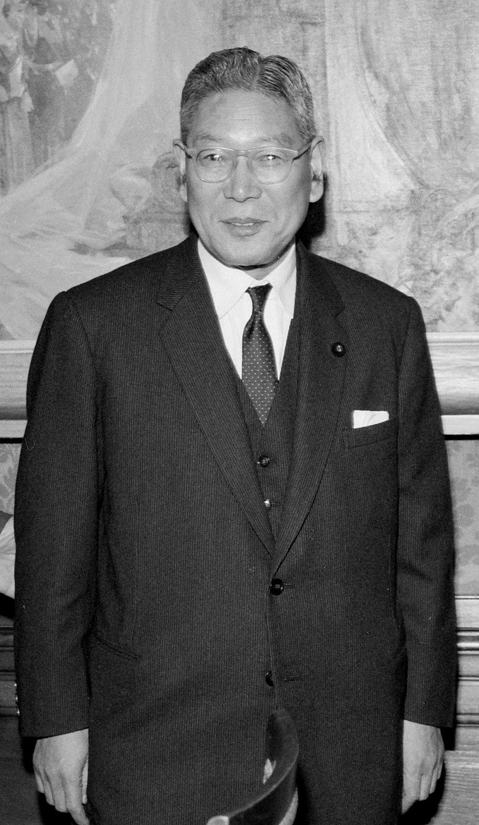 Hayato Ikeda 1962