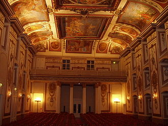 Symphony No. 22 (Haydn) - The Haydnsaal in Eisenstadt. Click to enlarge.
