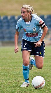 Heather Garriock association football player