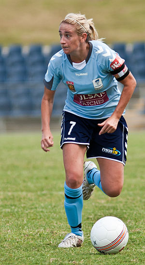 Heather Garriock - Garriock playing for Sydney FC in 2010