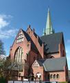 Heiligen-Geist-Kirche Rostock Panorama Ostseite.png