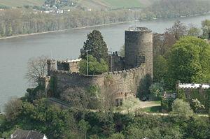 Heimburg in Niederheimbach - Image: Heimburg 1